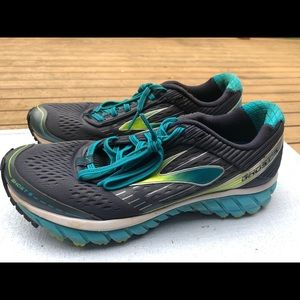 ASICS Ghost 9 Multi-Color Running Sneakers Size 9